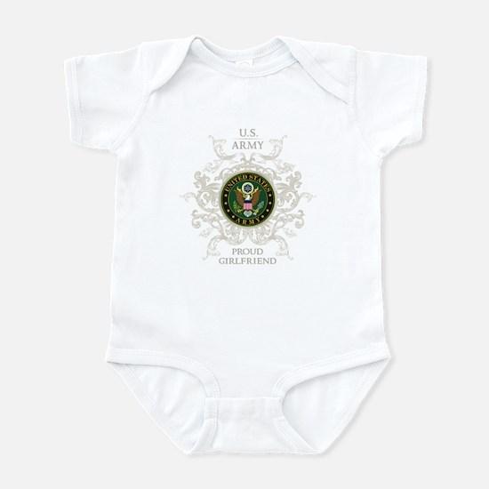 US Army Seal proud girlfriend Infant Bodysuit