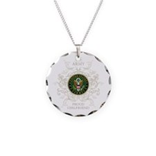 US Army Seal proud girlfrien Necklace
