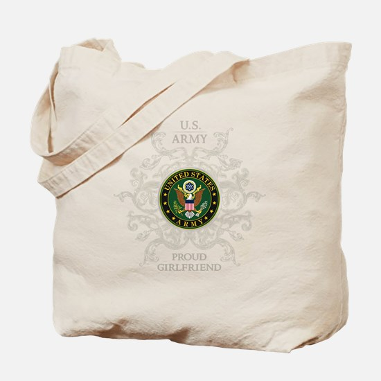 US Army Seal proud girlfriend Tote Bag