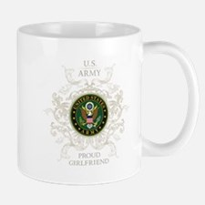 US Army Seal proud girlfriend Mug