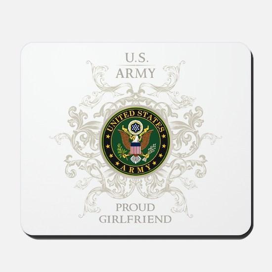 US Army Seal proud girlfriend Mousepad
