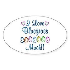 Bluegrass Love So Much Decal