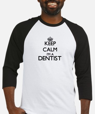 Keep calm I'm a Dentist Baseball Jersey