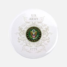 """US Army Seal 1775 Vintage 3.5"""" Button"""