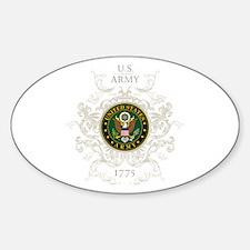 US Army Seal 1775 Vintage Sticker (Oval)