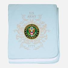 US Army Seal 1775 Vintage baby blanket