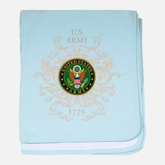 US Army Seal 1775 Vintage baby blanket