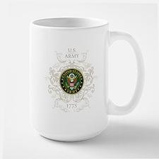 US Army Seal 1775 Vintage Large Mug