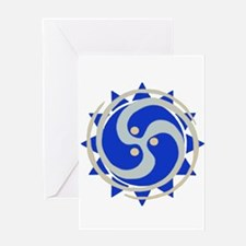 House of Light Logo Greeting Cards