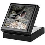Birds Square Keepsake Boxes