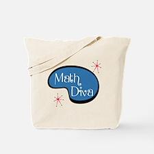 Math Diva Tote Bag