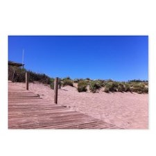 Plage  Postcards (Package of 8)