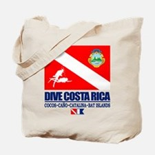 Dive Costa Rica Tote Bag