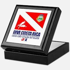 Dive Costa Rica Keepsake Box