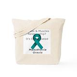 Myasthenia gravis Totes & Shopping Bags