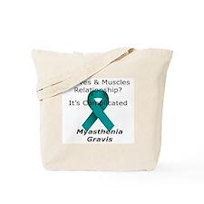 Cute Myasthenia gravis Tote Bag