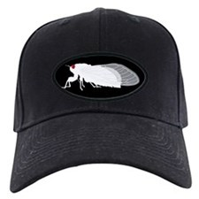 White Cicada Design Baseball Hat