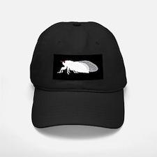 White Cicada Design Baseball Hat