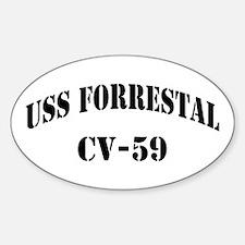 USS FORRESTAL Decal