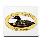 Grand Rapids Loon Mousepad