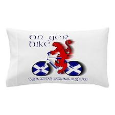 Scottish Lion Cycling Fun Pillow Case