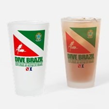 Dive Brazil Drinking Glass