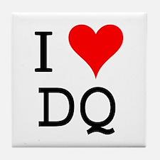 I Love DQ Tile Coaster
