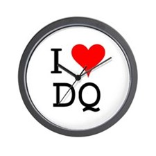 I Love DQ Wall Clock