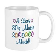 80s Love So Much Small Mug