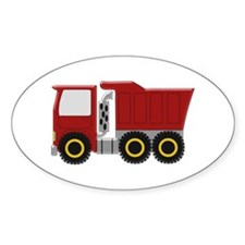 Red Truck Decal