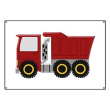 Red Truck Banner