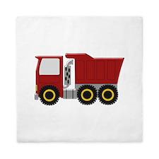 Red Truck Queen Duvet