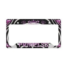 Harvest Moons Princess License Plate Holder