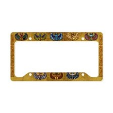 Harvest Moons Scarabs License Plate Holder
