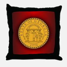 Georgia Seal.png Throw Pillow