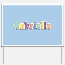 Gabrielle Spring14 Yard Sign