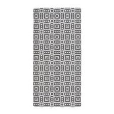 Black and White Modern Tribal Beach Towel