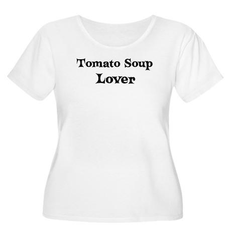 Tomato Soup lover Women's Plus Size Scoop Neck T-S