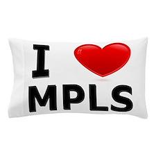 I Love Minneapolis Pillow Case