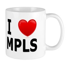 I Love Minneapolis Mug