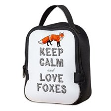 Fox Neoprene Lunch Bag