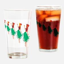 Hula Dance Drinking Glass