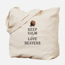 Wood Badge Beaver Tote Bag