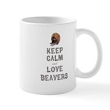 Wood Badge Beaver Small Mugs