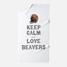 Wood Badge Beaver Beach Towel