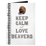 Beaver Journals & Spiral Notebooks