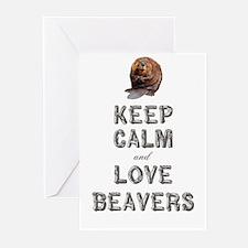 Wood Badge Beaver Greeting Cards (Pk of 10)