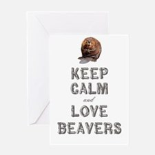 Wood Badge Beaver Greeting Card