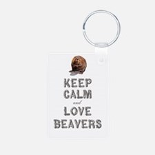 Wood Badge Beaver Keychains
