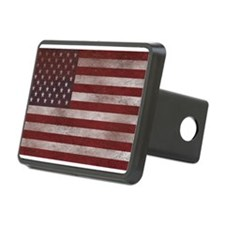 Vintage American Flag 10 Hitch Cover